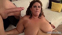 Fat and sexy BBW Erin Green gets her pussy stuf...