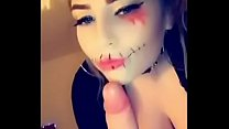 Amelia Skye Fucks and face sits for Halloween (...
