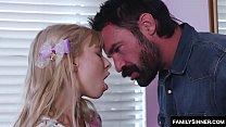 Daddy catch stepdaughter on sex webcam