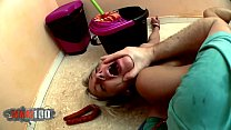 Nicky Wayne brutal anal fucking with food and m...