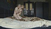 Teen Russian Escort Secretly Filmed Anal
