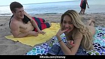 Sexy exhibitionist GFs are paid cash for some p... Thumbnail