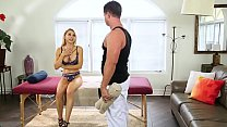 Wife cheats on her husband with the masseur - E...