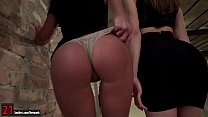 Evelina Darling and Lexi Layo licking ass and a...