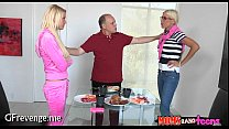 Divine 3some with a hot older - Moms Bang Teens...