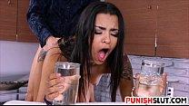 Teen latina Nikki Kay is not allowed to spill o...