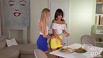 Lesbian Milfs Nancy A. And Suzy Rainbow Carrot ...
