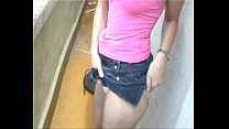 Girl Showing Her Diaper Panty Thumbnail