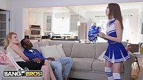 BANGBROS - Young Cheerleader Riley Reed Rides A Big Black Cock Thumbnail