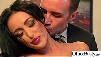 (breanne benson) Sex In Office With Big Melon J...