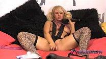Shebang.TV - Horny blonde slut Bonnie Rose play...