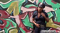 Homeless chick gets fucked by ebony cop - Digit... Thumbnail