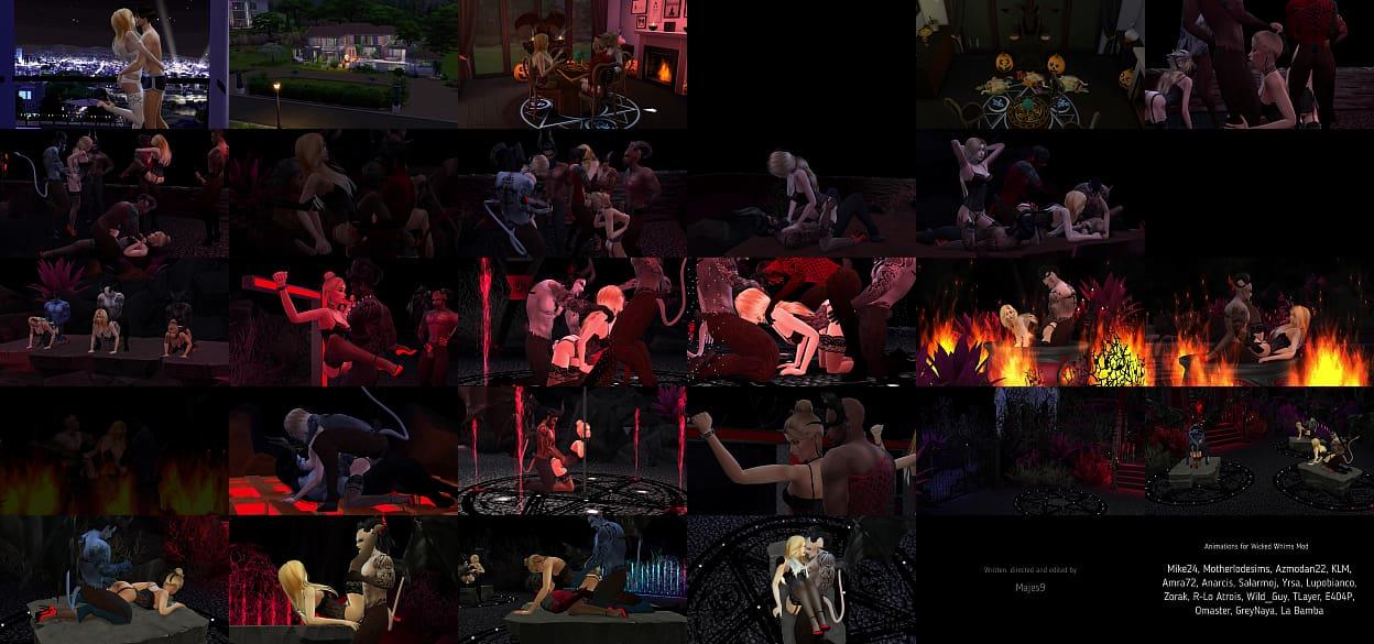The Sims 4: Lustful Self-redeem