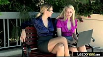 Sex Tape With Naughty Teen Lesbos Girls (Natali...