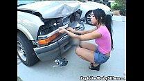 Cody Lane wrecks boss's car