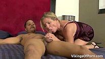 Screenshot Hot Blonde MILF  Bitch Peaches Enjoys Young Bi Enjoys Young Big