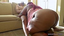 don prince bangin huge booty bbw mom on her cou...