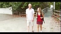 18 Year-Old Sasha Hall Gets Her Twat Cream-Fill...
