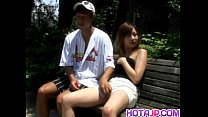 Sayaka Hagiwara has snatch touched outdoor and ...