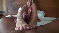 Footjob to Splash