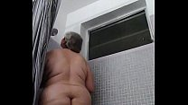 Golden shower and masturbation
