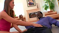 Babe with sexy white ass Tori Black gets pumped...