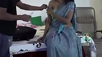 Hot Indian Bhabhi romance With Doctor at Home
