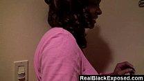 RealBlackExposed - Sexy black bootylicious girlfriend Dee Rida