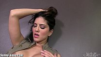 SunnyLeone Sunny Leone in her army outfit! New Solo! Thumbnail