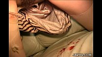 Busty slut Remi fucked while blindfolded