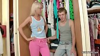 Brother Caught Skinny Step-sister and Seduce he... Thumbnail