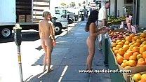 Nude in San Francisco: Jenni and Earth Friend Jen take a naked stroll