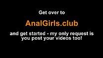 Girl Screams from Anal Pleasure