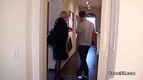German MILF seduce Young Boy to Fuck when Home alone Thumbnail
