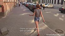 A skinny redhead Christi Cats is eager to be fu... Thumbnail