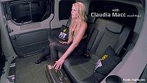 FUCKED IN TRAFFIC - Czech blondie Claudia Macc gets cummed on in hot traffic sex