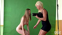 Blonde Milf Afrodity Casts the Young and Hot St... Thumbnail