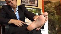 handsome boy feet