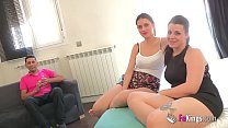 A gift for The Spanish Cuckold: his first MMF t...