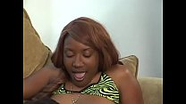 African chick has an incredible DP experience with her friend and neighbor