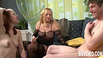 Mature german whores share cock