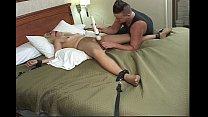 Real Pantyhose Bondage Sex #3: The Abduction of Kinky GaGa's Thumb