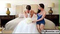 Screenshot Evelin having a  threesome before wedding re wedding