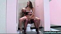 Hot Lez Girl Get Sex Toy Punishment From Nasty ...