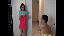 Awesome cute Sister gets first sex experience w...