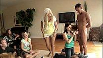 BRANDI BELLE - Group Of Girls Learn How To Suck...