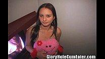 Teen Toni Giving the Perverts a Valentine Blowjob