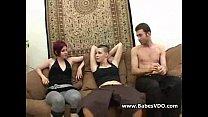 lesbians enjoy a cock