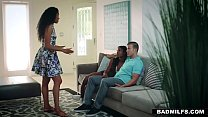 BadMilfs - Ebony Milf Fucks Son In Law Thumbnail