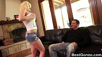 Slutty student fucks her teacher for money